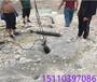 瑶海区非煤矿山开采矿山开采石头分裂岩石裂石机怎么使用