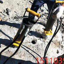 云安县开采方量低用巷道沟渠破石头分裂机真好用图片