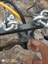 巴音郭楞蒙古自治州礦山開采代替放炮劈裂機靜態劈裂機操作說明圖片