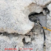 新洲區采石場不能放炮用什么開采石頭現貨供應圖片