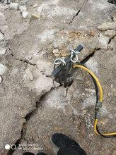 大型岩石矿山开采替代爆破设备广东佛山价格优惠/多少钱图片
