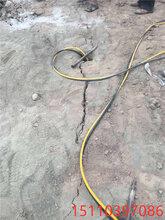 沉積巖土石方基坑開挖劈裂棒快速開采石頭廣西北海圖片