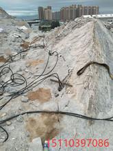 开山修路手提式劈裂机快速分石开采山西临汾图片
