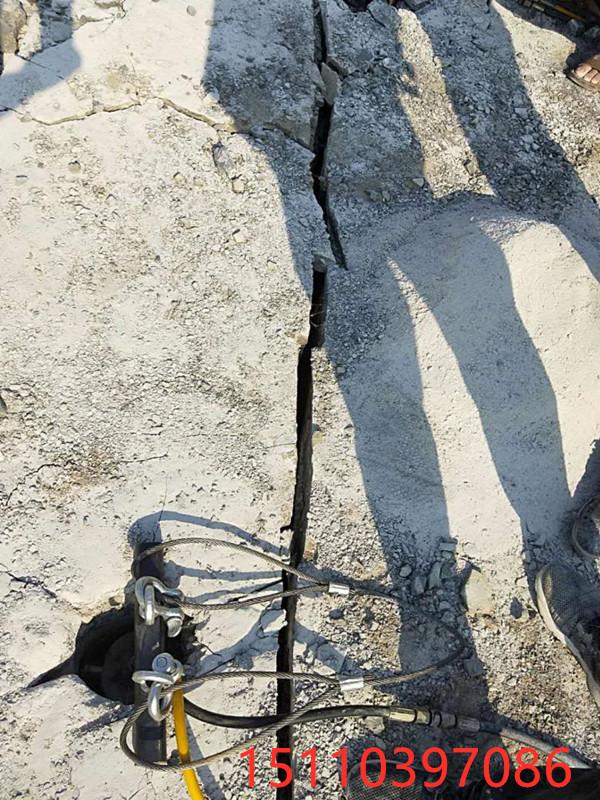 张家口市地基改造开挖岩石分石机厂家价格