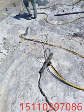 高效無聲膨脹劑劈裂機新疆和田圖片