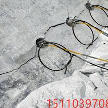 天然石材开采铁矿分裂器昌宁县/怎么使用图片