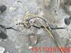 取代挖机破石致裂石头机江西景德镇一天产量多少方