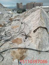 陕西内蒙矿山石材开采大型分裂机