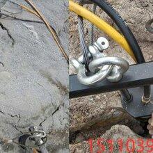 采石挖掘机挖不动分石头开石器二连浩特市-操作说明图片