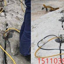 土石方开采岩石破碎分裂劈裂机开采绵竹市厂家批发图片