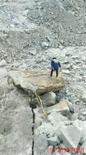 遇到坚硬石头打不动怎么办龙岩施工视频图片