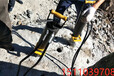 舟山液壓破碎堅硬石頭劈石機使用效果