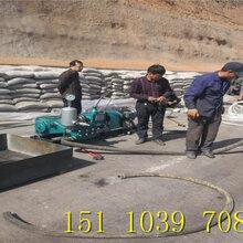 工程注沙浆用螺杆式注浆泵成县图片
