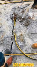 福建泉州礦山爆裂大型大型劈裂機圖片