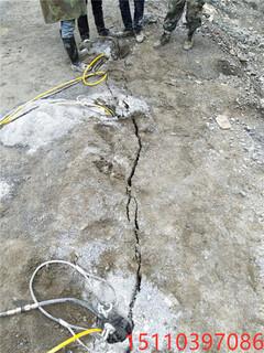 中方县代替人工分石头开采方法爆破机图片2