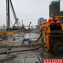 陜西長武處理泥漿機器洗河沙淤泥固化設備圖片