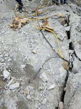 取代挖機破石致裂石頭機甘肅慶陽廠家解決難題圖片