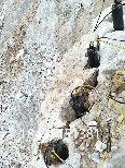 吉林延边竖井开挖石头劈裂机图片0