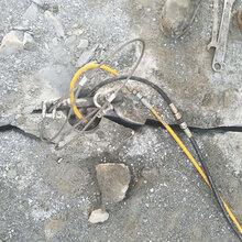 公路边坡岩石拆除岩石劈裂棒海南海口