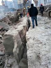 堅硬巖石分石機石頭破碎分裂棒湖南郴州圖片