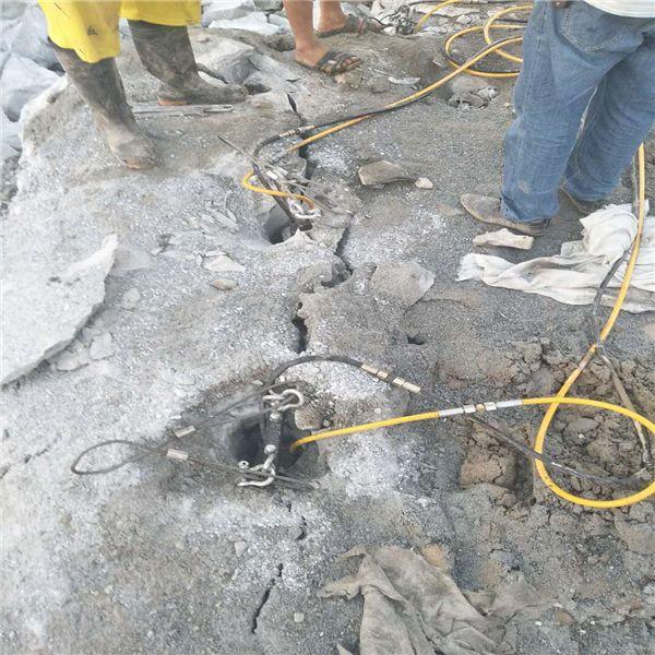 鸡泽县可以替代膨胀剂破裂石头机器