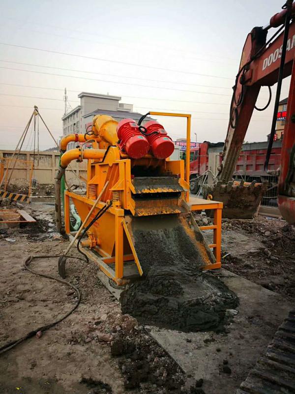 辽宁辽阳泥浆快速处理旋流式脱水机
