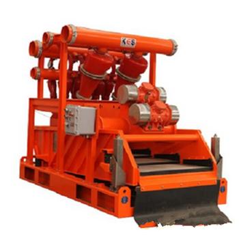 安徽池州線穿黃工程泥漿處理系統