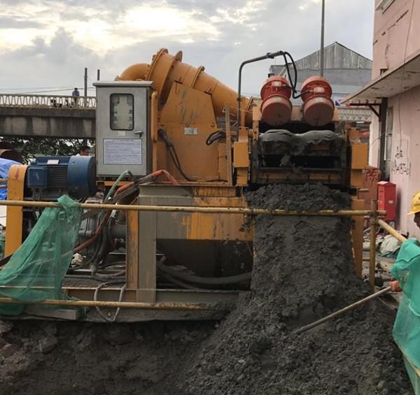 绍兴市打桩泥浆处理泥浆分离机