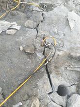 四川福建不用炮錘液壓脹裂機械打石分裂器圖片