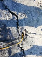 晉中市地下豎井采挖基坑巖石破碎劈裂器圖片
