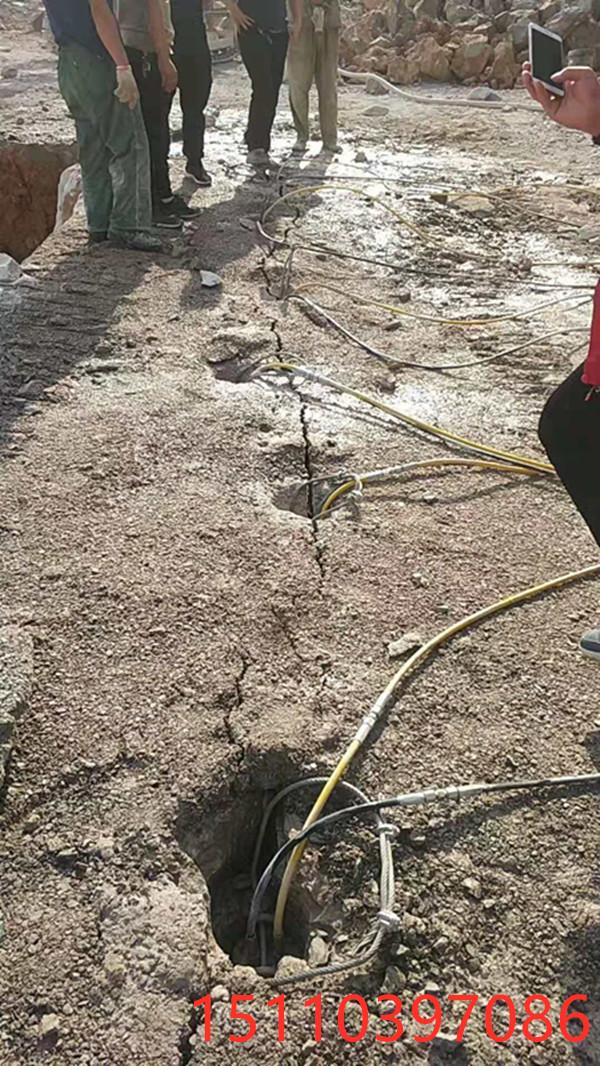 辽宁本溪代替膨胀剂岩石开采机器