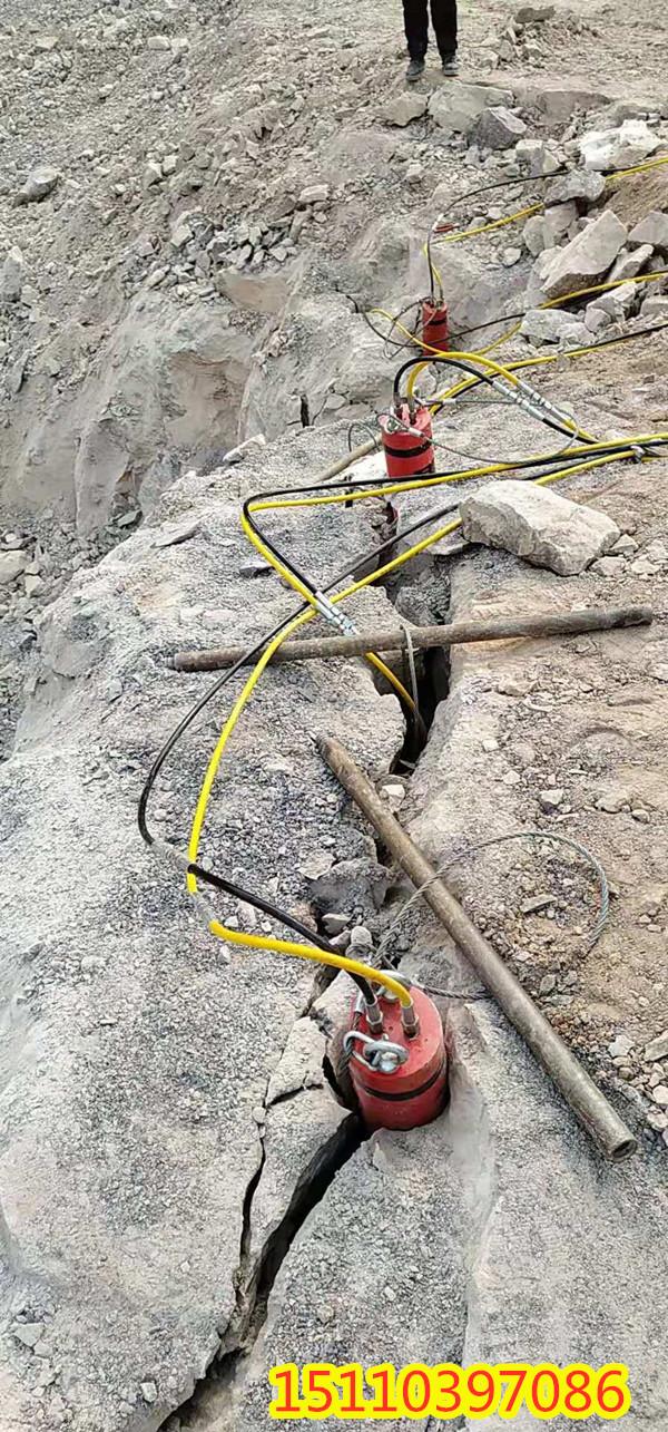 宜昌市岩石开采静态液压机械