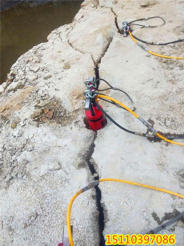 恩施土家族苗族自治州地下室开挖坚硬岩石膨胀机