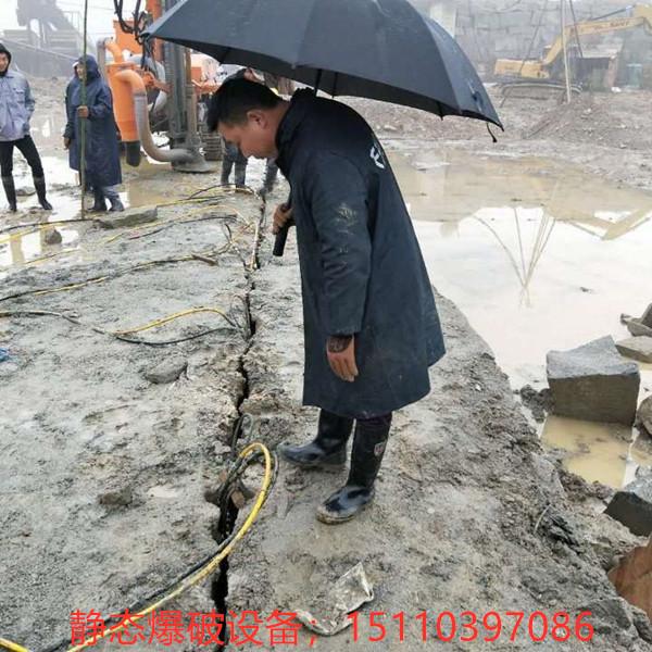 地基劈裂硬岩石开采设备江西吉安