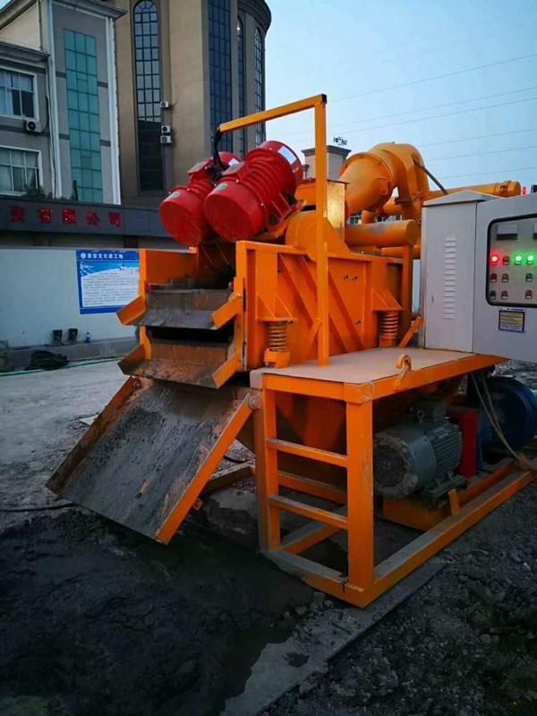 處理打樁泥漿凈化除砂機甘肅白銀泥漿處理器