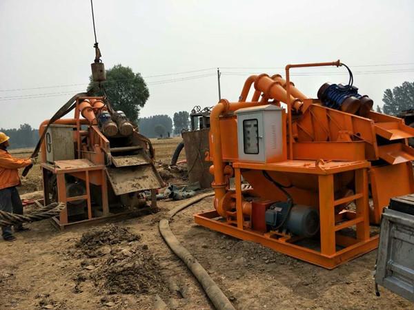 江苏泰州钻井泥浆处理设备