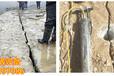 西藏日喀则矿山开采无声静态破石头机解决您的难题