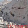 隧道开挖岩石破裂机替代放炮海南五指山