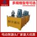 柱塞式电动液压油泵定做多油路气动型超高压电动泵站
