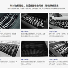 河南銘赫1000型新型設備節能撕碎機/定制撕碎機圖片