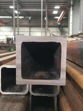 江苏做机械设备用热轧尖角方形钢管热轧直角方矩管无缝厚壁方矩管图片