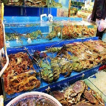 阜新彰武海鲜市场
