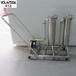 梧州涂料油漆等液體凈化除濁用不銹鋼大流量多袋式過濾器過濾機