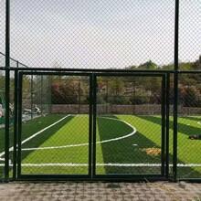济宁篮球架、济宁塑胶篮球场施工、济宁球场围网施工图片
