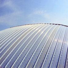 浙江立志铝镁锰金属屋面系统YX65-400直立锁边图片