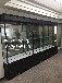 精品货架展示柜玻璃展柜钛合金展架展示柜石狮展柜