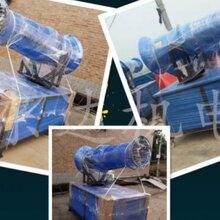 手动环保除尘炮雾机,30米雾炮机全自动风送式降尘雾炮机