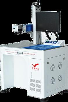 光纤激光打标机柜20w台式电子件轴承手机壳金属打码机代加工