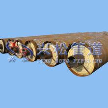 钢套钢保温管/直埋蒸汽保温钢管厂家