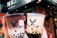 最近很火的鹿角巷奶茶,创业者不要错过了